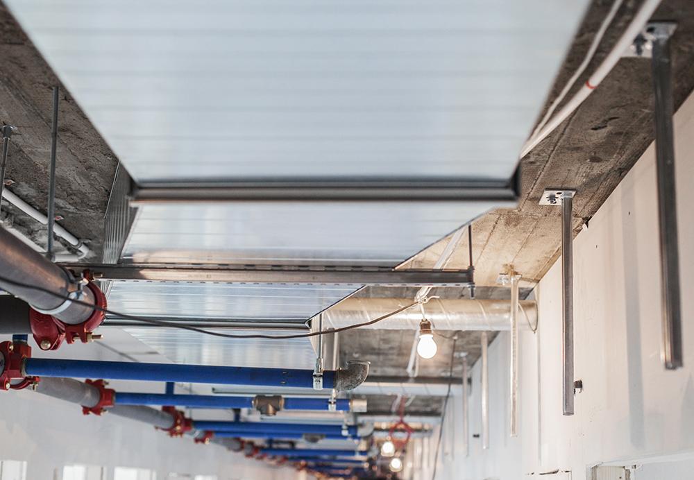 APS ventilation Svenska Mässan